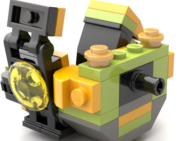 digital model backside of the monowheel