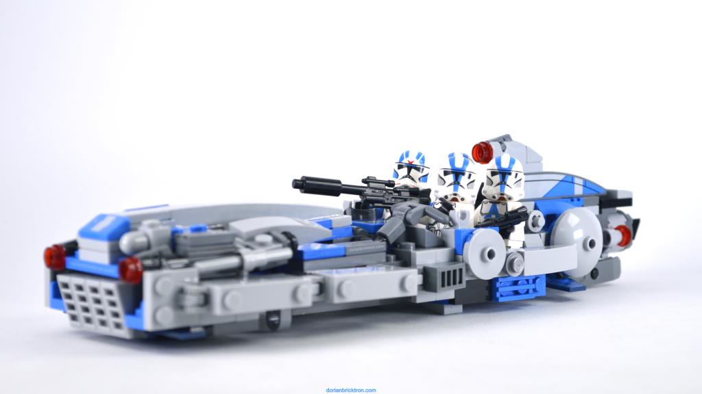 lego 75280 landspeeder alternative build