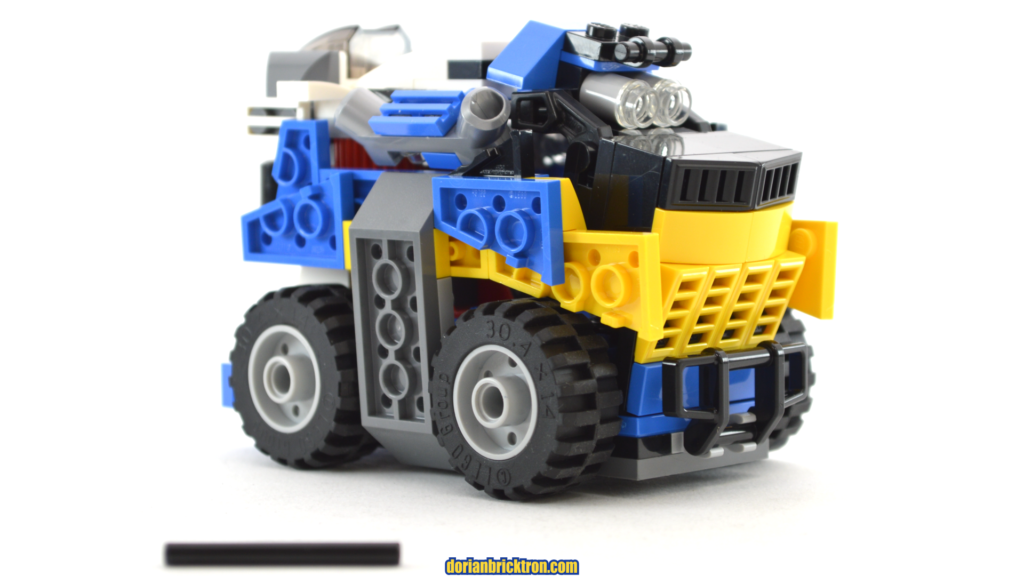 LEGO 31087 space rover alternate build