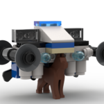 Lego City Police: Detective Doggo, air & cybercrime unit