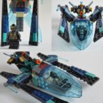 Black Panther: Outrider Dropship, Spaceship, instructions
