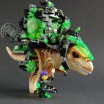Nexo Knights: Cyberpunk Dino Rider, instructions