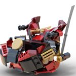 Ninjago: Samurai Pod Spaceship, instructions