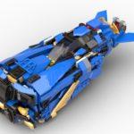 Ninjago: Jay´s Storm Speeder, Cyberpunk Speeder